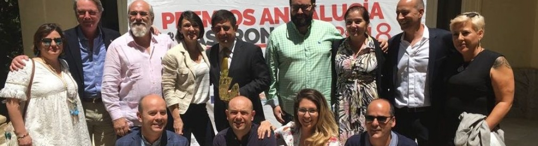 La Diputación de Jaén recibe el Premio Andalucía de Gastronomía por su labor de apoyo y promoción a este sector