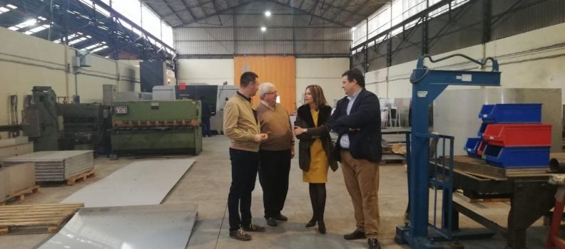 La Junta destaca el potencial industrial de la empresa Exni en el sector ferroviario y oleícola