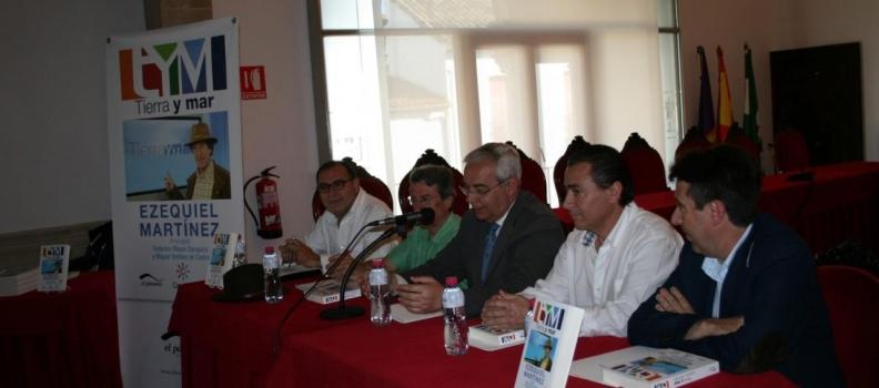 El periodista Ezequiel Martínez presenta su libro Tierra y Mar