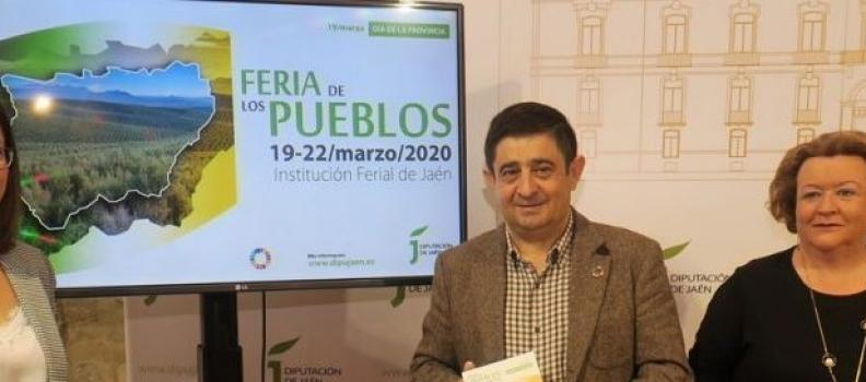 La Diputación de Jaén pospone la celebración de la VII Feria de los Pueblos por la crisis del coronavirus