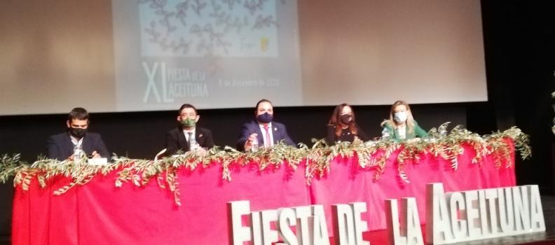 El cocinero Enrique Sánchez apela a las emociones y los sentimientos en su pregón de la XL Fiesta de la Aceituna de Martos