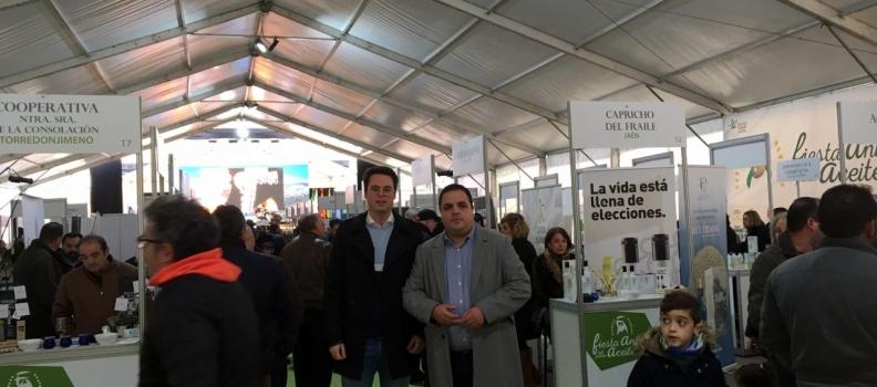 Concluye en Martos la VI Fiesta Anual del Primer Aceite de Jaén, que tendrá su continuidad este fin de semana en Gijón
