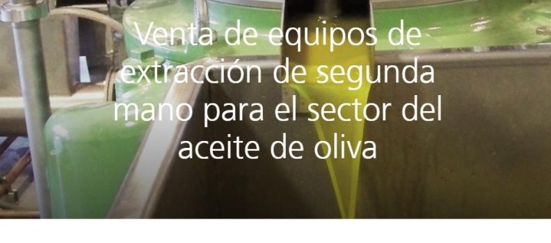 GEA inaugura su tienda online para la venta de maquinaria de segunda mano para la extracción de aceite de oliva