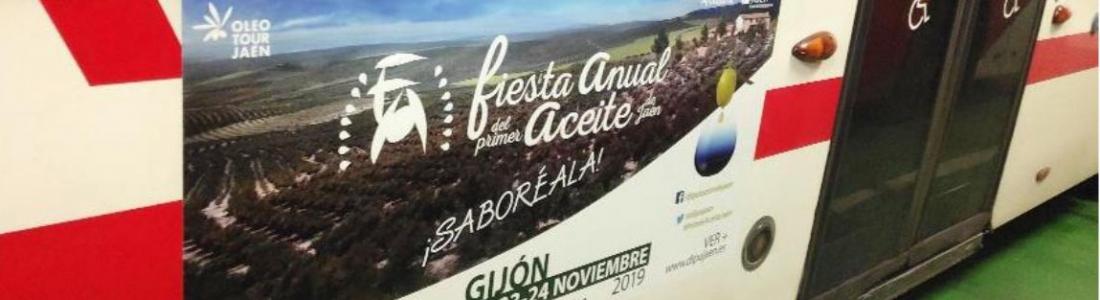 La provincia de Jaén traslada a Gijón del 22 al 24 de noviembre los primeros aceites de oliva virgen extra de esta cosecha