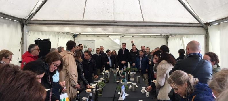 La Fiesta del Primer Aceite de Jaén ofrece en Gijón degustaciones de 800 tostadas y 1.000 tapas con AOVE