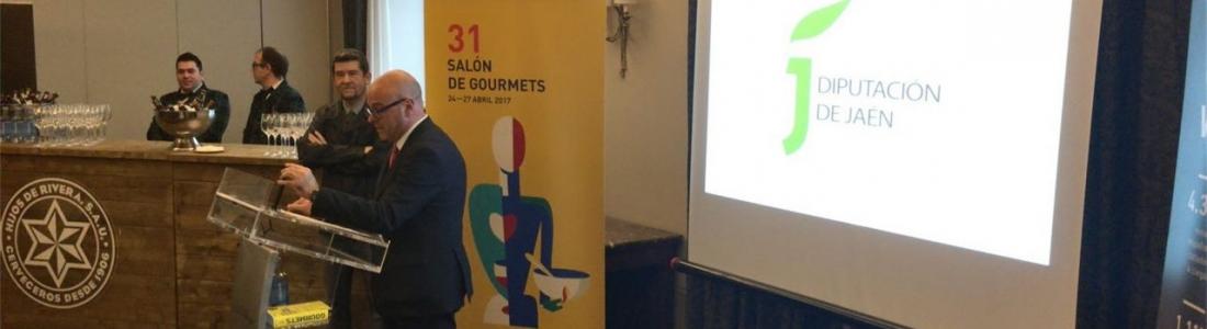 La Diputación de Jaén traslada el XIV Premio de Cocina con Aceite de Oliva al Salón de Gourmets