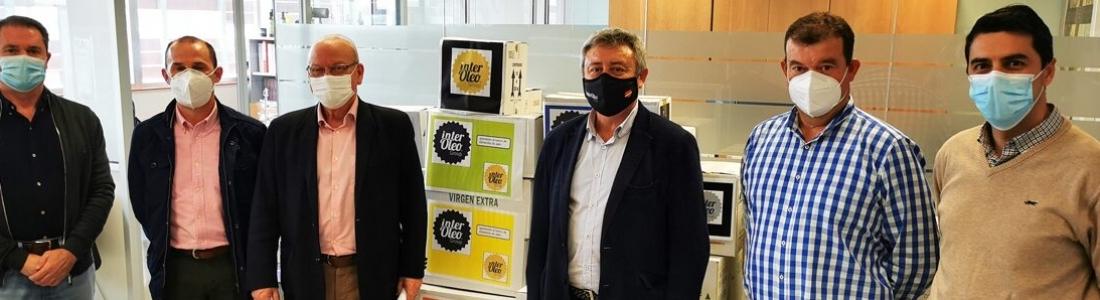 Grupo Interóleo incrementa su aportación al Banco de Alimentos y hace entrega de 937,50 litros de aceite de oliva virgen extra