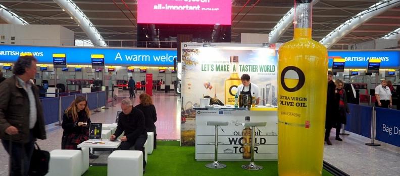 """La Interprofesional del Aceite de Oliva y la UE presentan en Reino Unido la acción promocional de la campaña """"Let's Make a Tastier World"""","""