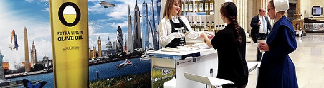 La campaña Olive Oil World Tour llega a uno de los lugares más emblemáticos de Estados Unidos, la Union Station de Chicago