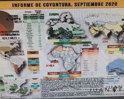 El consultor Juan Vilar estima que el consumo de aceite de oliva superará ligeramente a la producción mundial, que pronostica en algo más de 3,1 millones de toneladas para esta campaña