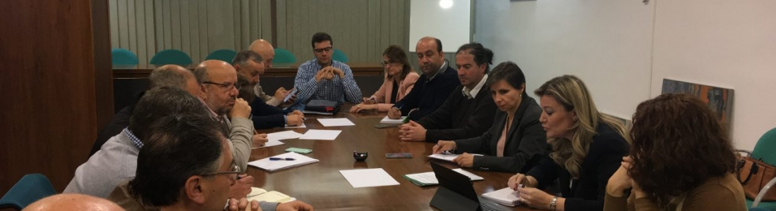 Responsables de la Junta se reúnen con los Grupos de Desarrollo Rural de Jaén para conocer sus necesidades