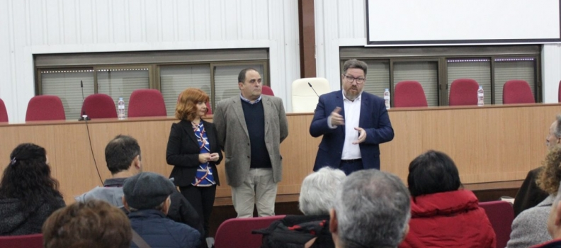 Sánchez Haro visita en Úbeda La Unión, la primera cooperativa que se constituyó en la provincia de Jaén