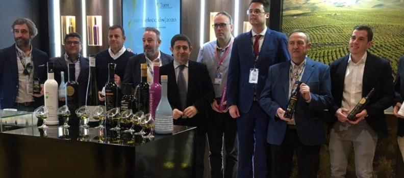 Los 8 AOVEs Jaén Selección y 15 empresas de Degusta Jaén se promocionan en Madrid Fusión de la mano de la Diputación