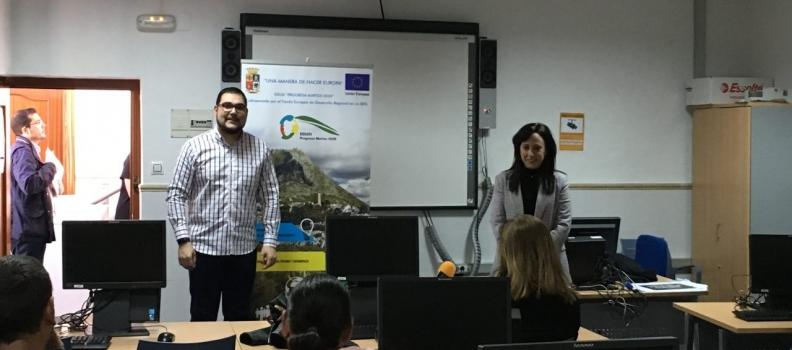 Jornada formativa en Martos con el alumnado del itinerario «Olivar, su diversificación y agricultura ecológica»