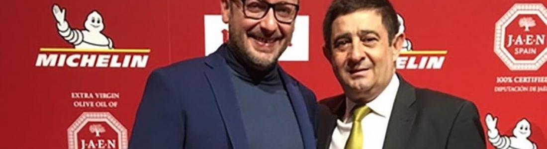 Reyes subraya el prestigio que la primera estrella Michelín obtenida por el cocinero Pedro Sánchez otorga a la gastronomía de Jaén