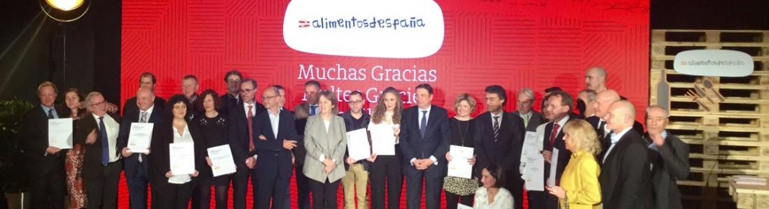 Luis Planas pone en valor la labor de los galardonados en los Premios Alimentos de España por la producción, comercialización y oferta de productos de calidad