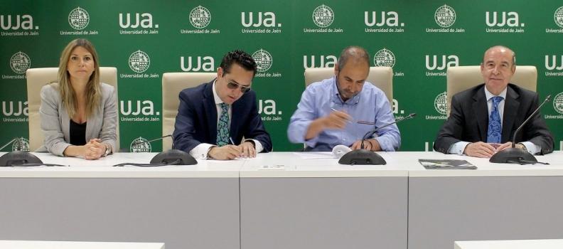 La Universidad de Jaén y el Grupo Oleícola Jaén firman un acuerdo de investigación en materia de valorización energética de subproductos del olivar
