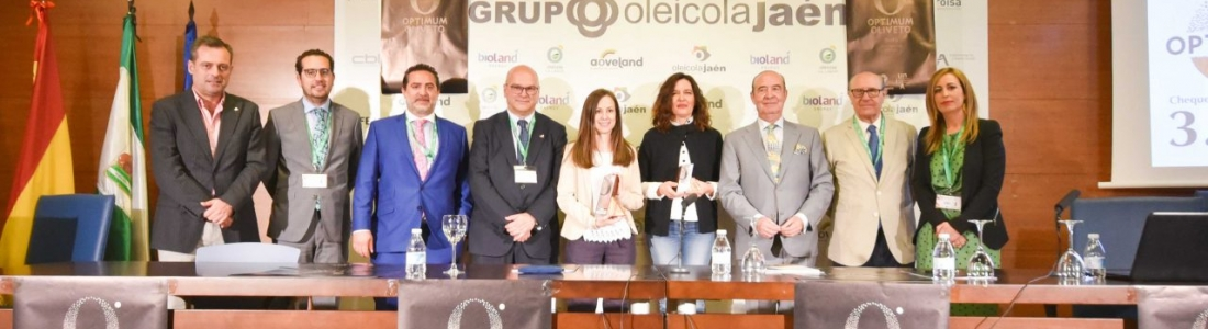 Lucía Olmo García gana el Premio de Investigación «Optimum Oliveto» que promueve el Grupo Oleícola Jaén