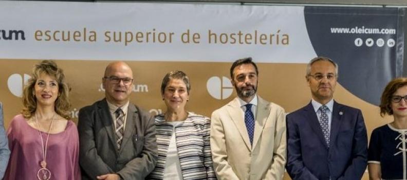 Inaugurada en Jaén la Escuela Superior de Hostelería «Oleicum»