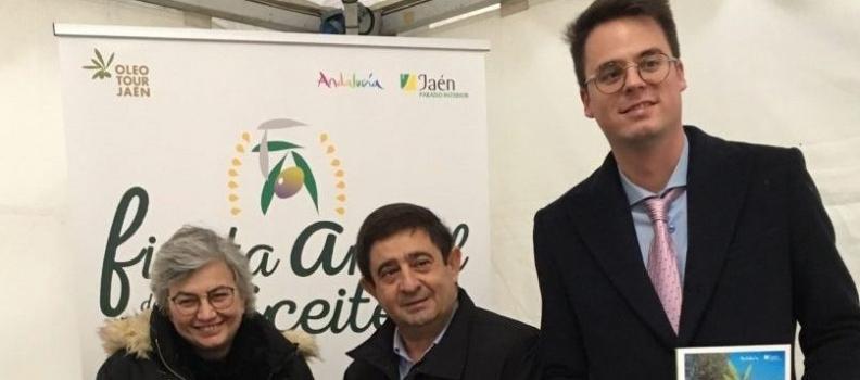 """Reyes invita a los asturianos a que descubran OleotourJaén, """"un viaje inolvidable por la cultura del olivar y el aceite"""""""