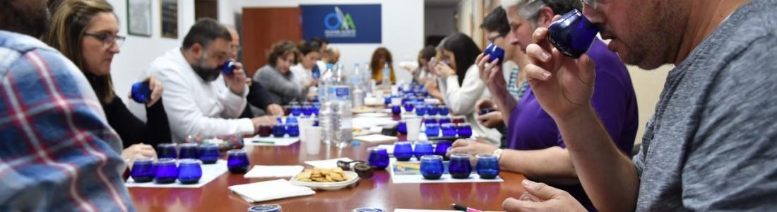 Quinta sesión del Club de Cata «Olivar y Aceite» dedicada a los AOVEs de cosecha temprana