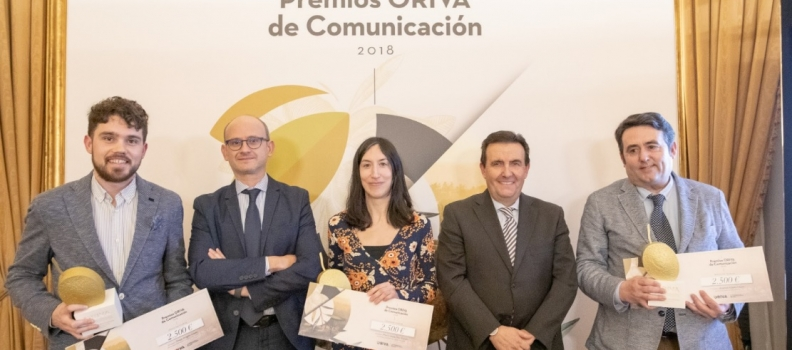 La Interprofesional del Aceite de Orujo entrega los I Premios ORIVA de Comunicación