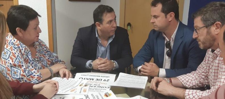 COAG y UPA recaban los primeros apoyos, de PSOE y PP, para la concentración del 29 de mayo por los bajos precios del aceite en origen