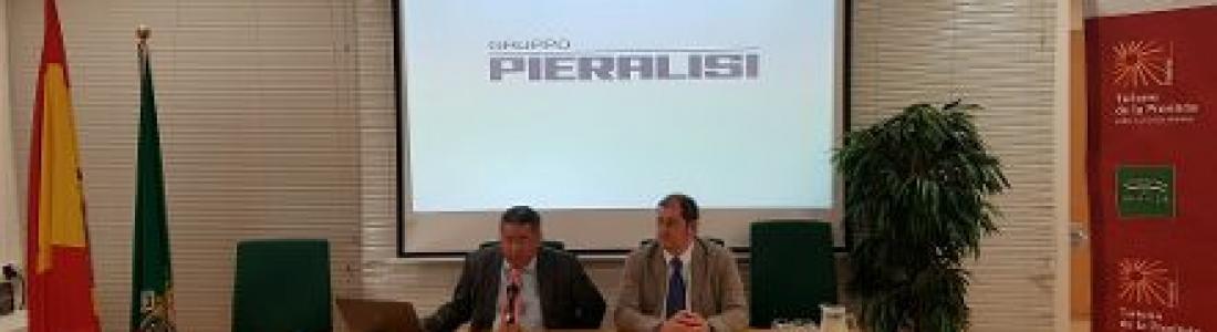 Conferencia de Pieralisi en la Semana Gastronómica de los Aceites de Sevilla