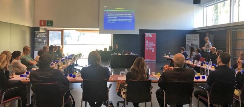 Pieralisi patrocina un curso del Instituto de Investigación y Tecnologías Alimentarias