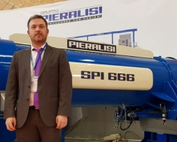 Pieralisi expone su maquinaria en la I Feria del Olivar y Frutos Secos de Talavera de la Reina