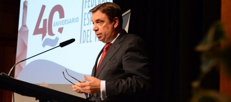 """Luis Planas: """"La subida de aranceles a la aceituna española no tiene fundamento económico ni técnico y puede poner en tela de juicio las normas de comercio internacional"""""""
