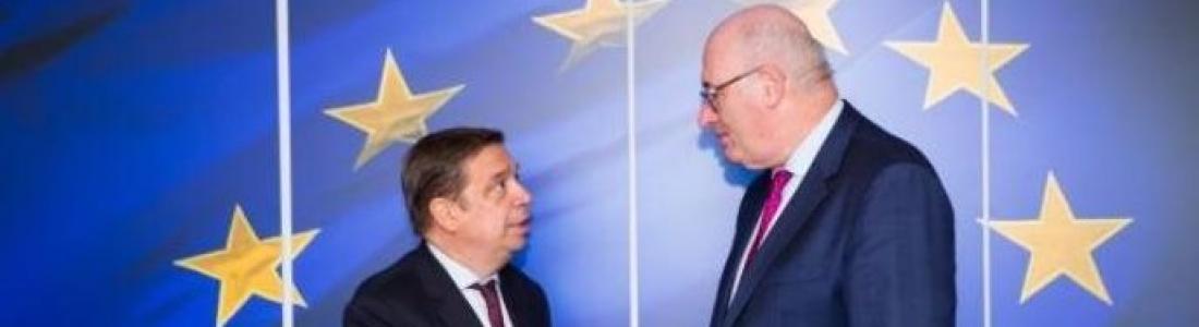 Planas subraya la necesidad de mantener la unidad y firmeza europea frente a las sanciones anunciadas por EEUU a los productos agroalimentarios
