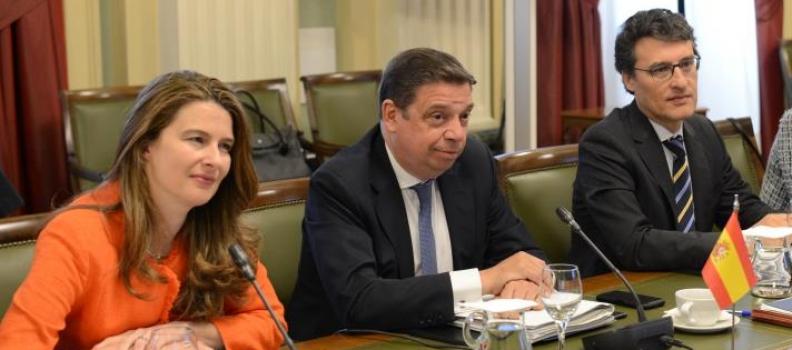 Planas valora el trabajo desarrollado para la elaboración del Plan Estratégico de la PAC para España
