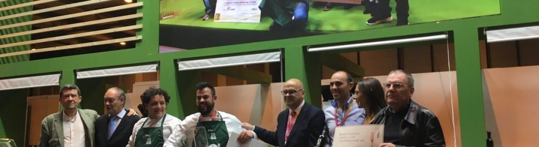 """Lalo Reyes, de """"Los Sentidos"""" de Linares,  se hace con el XVI Premio de Cocina con AOVE """"Jaén, paraíso interior"""""""