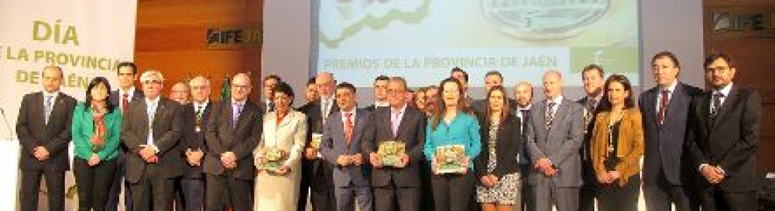 Olivar de Segura recibe uno de los Premios de la Provincia de Jaén