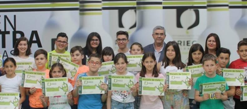 Clausurada la Escuela de Cata Infantil de la DO Priego de Córdoba