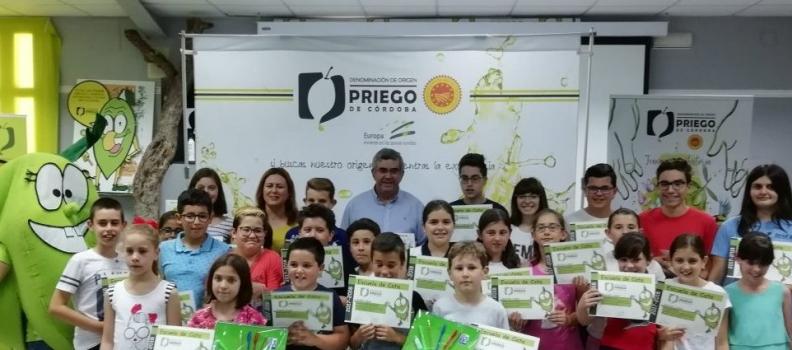La DO Priego de Córdoba convoca una nueva edición de la Escuela de Cata Infantil