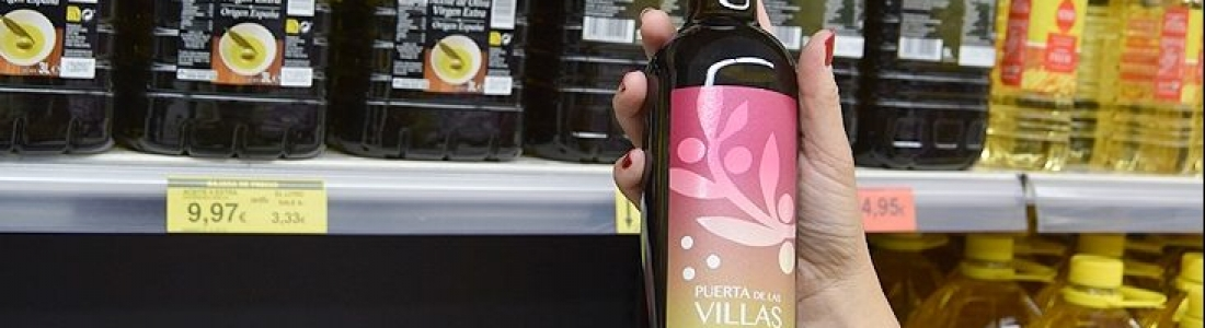 Mercadona vende AOVE Puerta de Las Villas de alta gama de la variedad picual