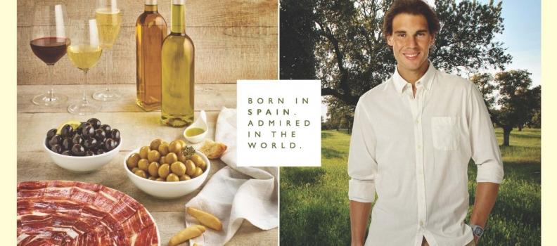 Presentada la nueva campaña de promoción de los alimentos de España que tiene como imagen a Rafa Nadal
