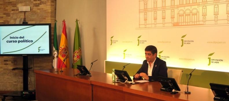 Reyes reitera la necesidad de que el Gobierno andaluz defina un protocolo específico que dé respuesta a las características concretas de la campaña oleícola