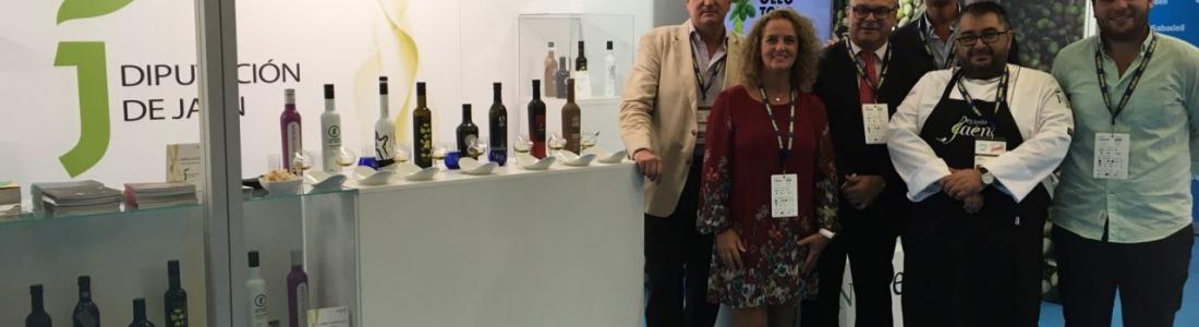 La Diputación promociona los aceites Jaén Selección y los productos Degusta Jaén en San Sebastián Gastronómika