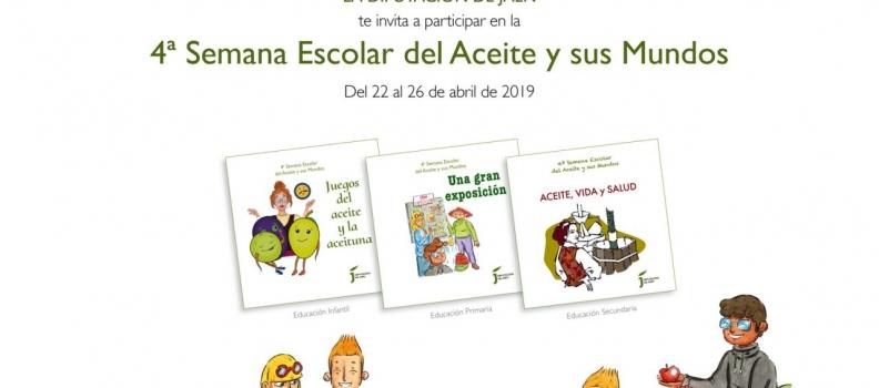 La IV Semana Escolar del Aceite y sus Mundos arranca el próximo lunes en 218 centros educativos de Jaén