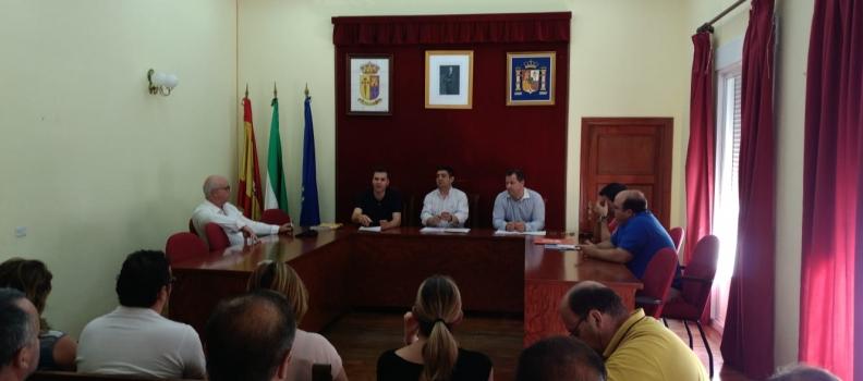 El presidente de la Diputación de Jaén solicitará al Gobierno central la ejecución de las conducciones en alta de la presa de Siles