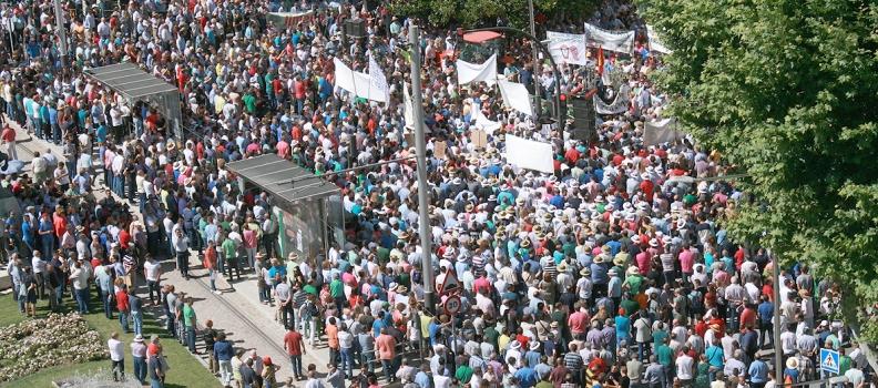 La UPA y la COAG mantienen su protesta en septiembre en Madrid por los bajos precios del aceite de oliva en el mercado de origen
