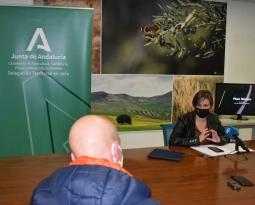 Agricultura invierte casi 13 millones de euros en la mejora de 40 caminos rurales de Jaén