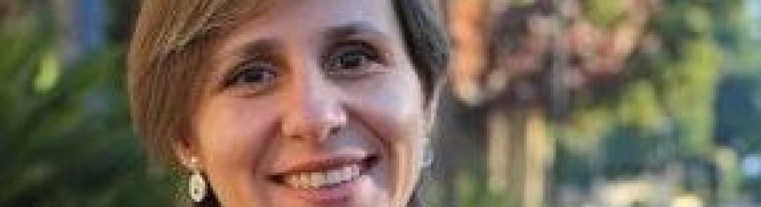 La concejala de Villacarrillo Soledad Aranda, nueva delegada de Agricultura, y la directora de Citoliva, Cristina de Toro, directora general de Industrias y Cadena Alimentaria