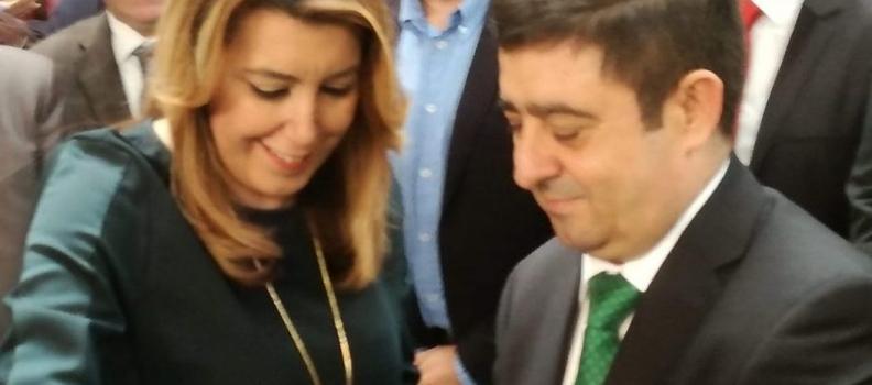 Susana Díaz cree que la IGP Aceite de Jaén supondrá un fortalecimiento de los aceites de la provincia