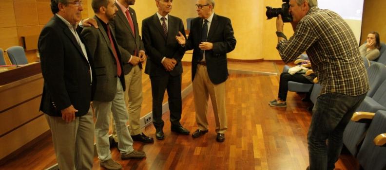 El rector de la Universidad de Jaén destaca el carácter internacional del Título de Experto Universitario en Cata de Aceites de Oliva Vírgenes