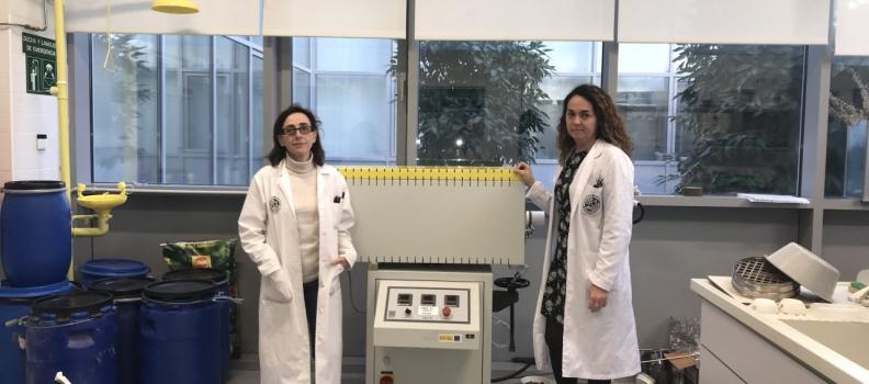 Investigadores de la UJA diseñan materiales inteligentes para la construcción a partir de residuos agroindustriales