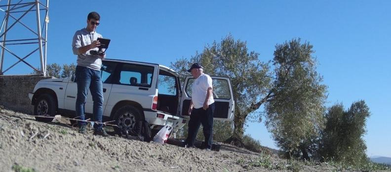 Grupos de investigación de la UJA ofrecen nuevos servicios para el olivar basados en el uso de drones